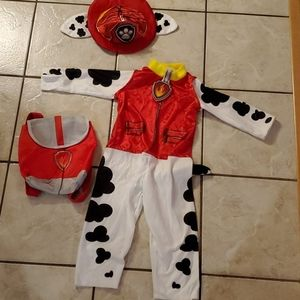 Paw Patrol 3t-4t Marshall Costume